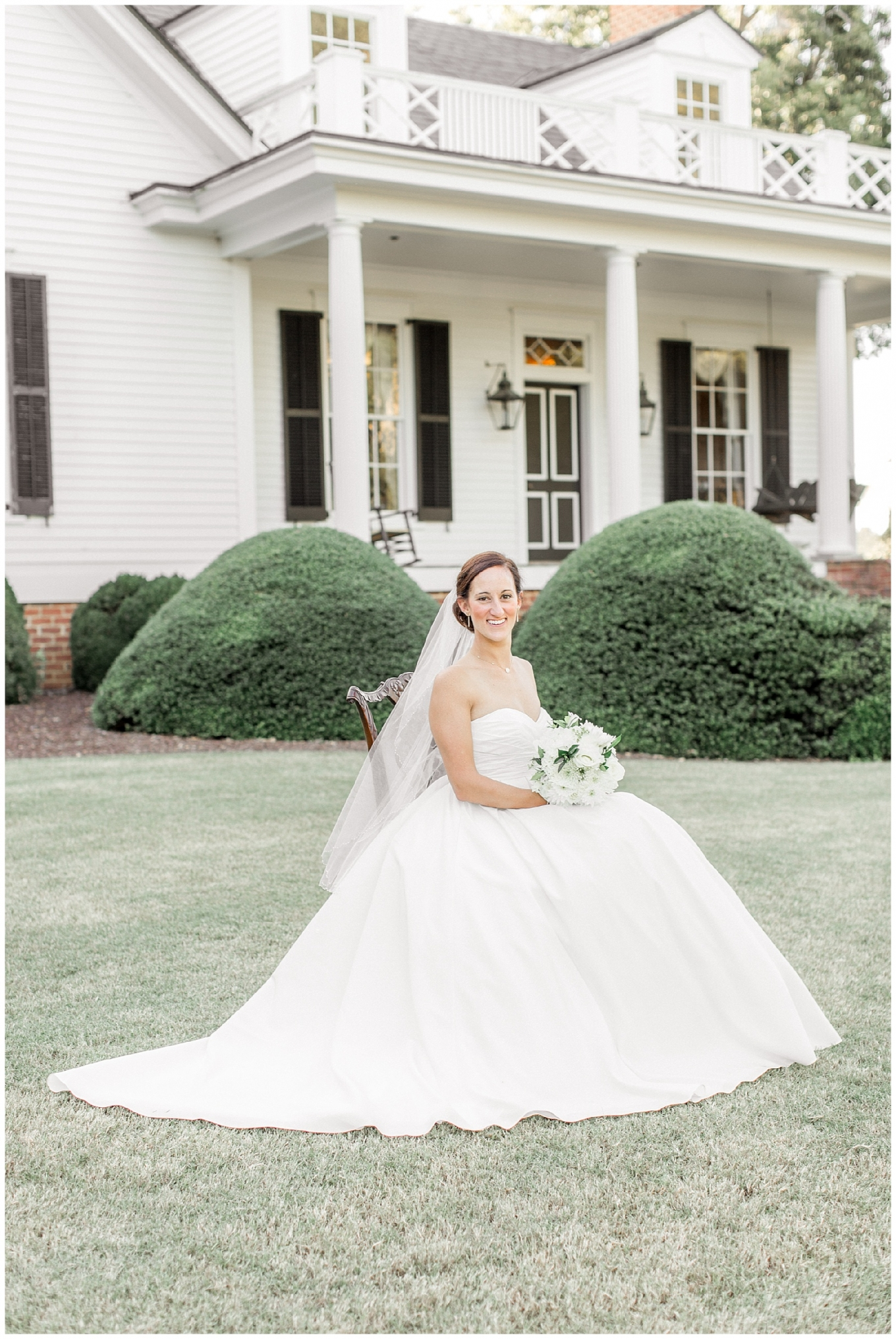 Sarah Joyner Bridal Portrait Session Tiffany L Johnson